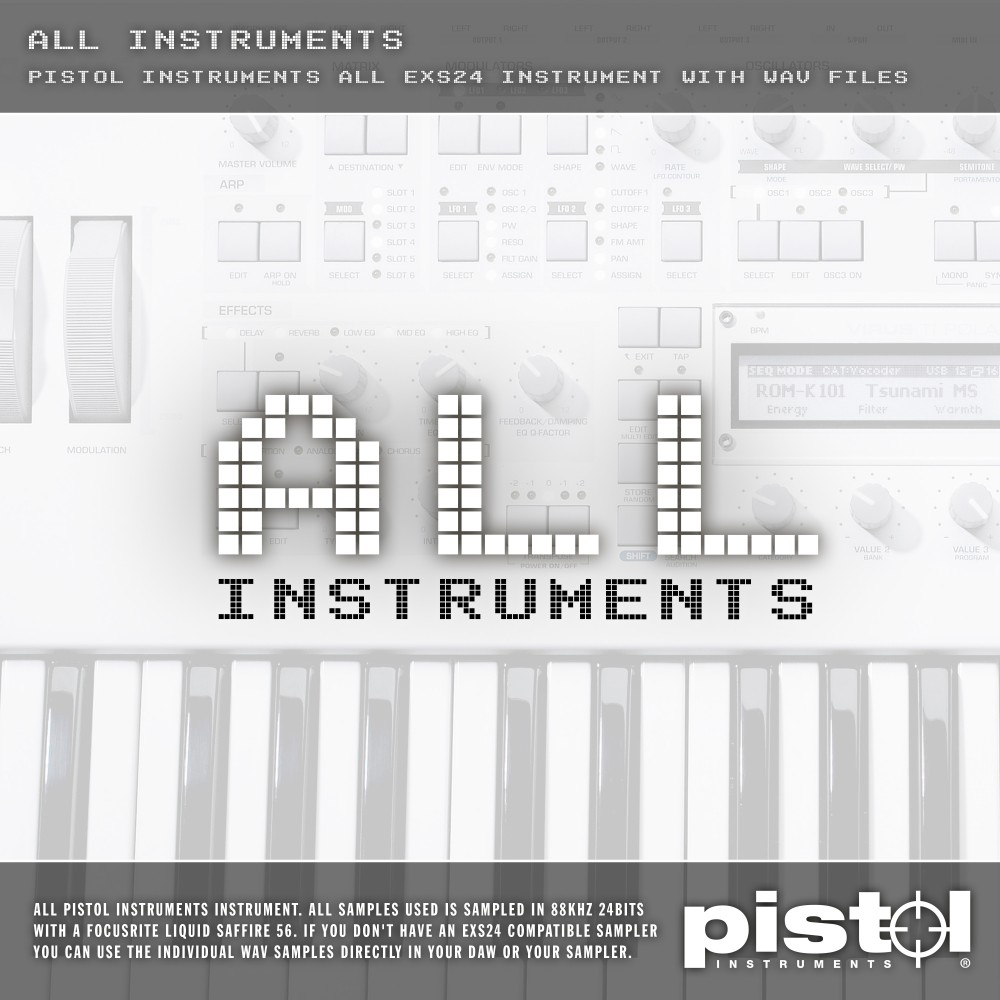 Pistol Instruments All Instruments
