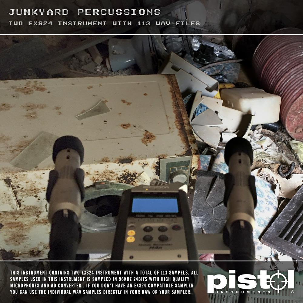 Pistol Instruments Junkyard Percussions