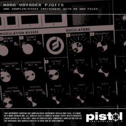Pistol Moog Voyager Pjotts