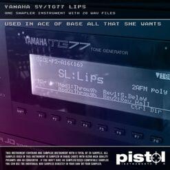Yamaha SY/TG77 Lips